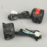 Motorcycle 7/8 Handlebar Horn Turn Signal Headlight Electrical Start Switch Us