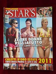 STAR'S ITALIAN MAGAZINE N15/2011 PALMAS PARODI BELEN BLASY HUNZIKER SENICAR N42
