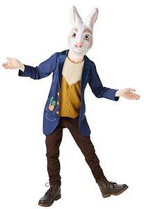 RAGAZZI Peter Rabbit Beatrix Potter libro animali giorno settimana Fancy Dress Costume Outfit