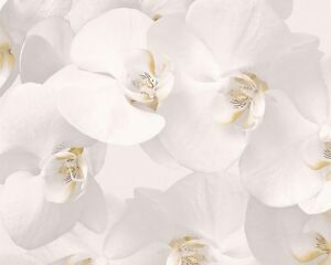 Authentic-Walls-Papiertapete-A-S-Blumenmuster-in-2-wundervollen-Farben-auswaehle