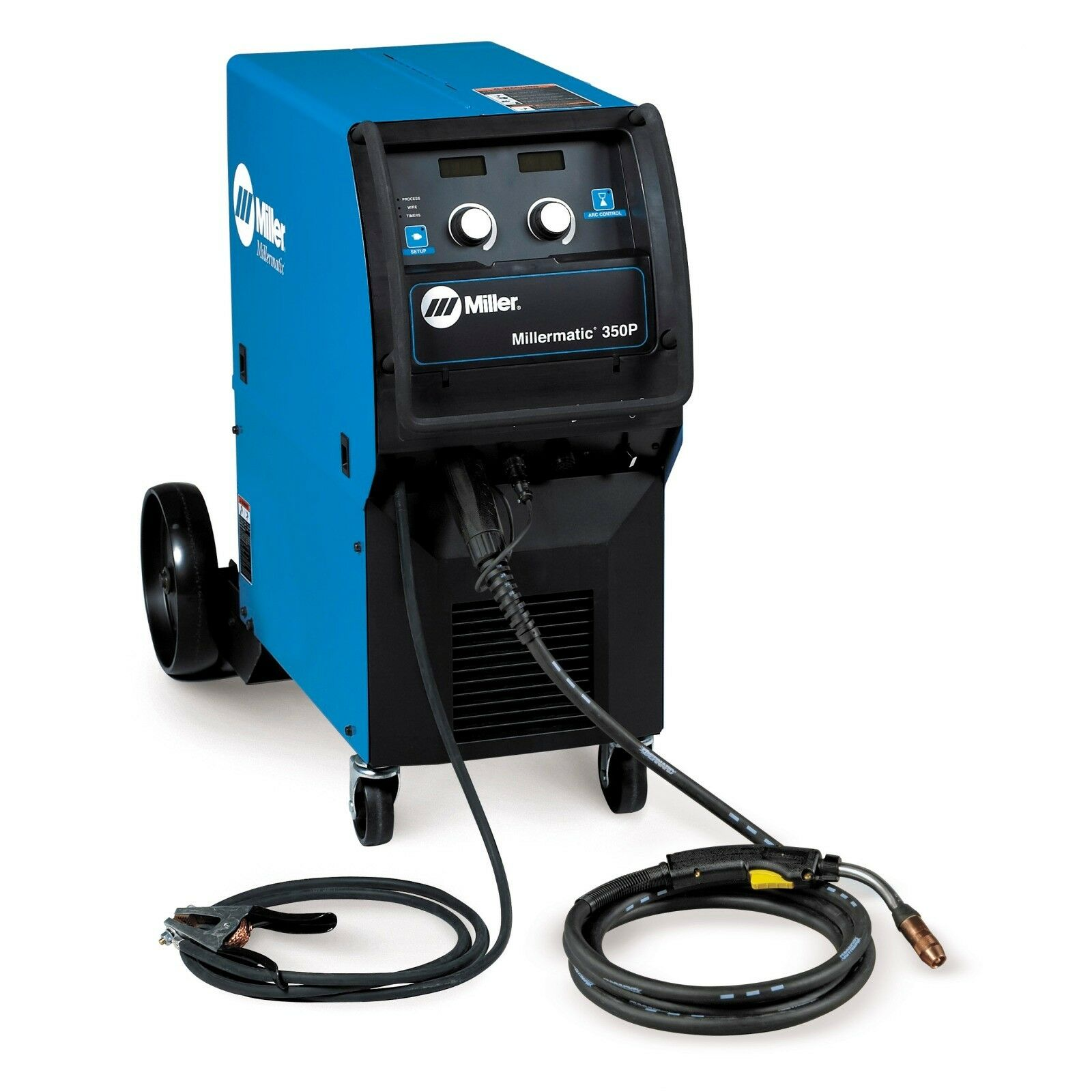 Miller Millermatic 350p Mig Welding Pkg 907300 For Sale Online Ebay