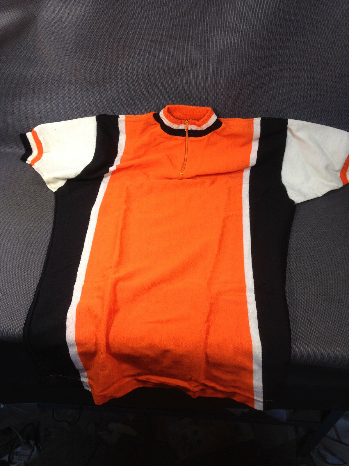 Old vintage Radfahren jersey Orange new collection Radfahren aed