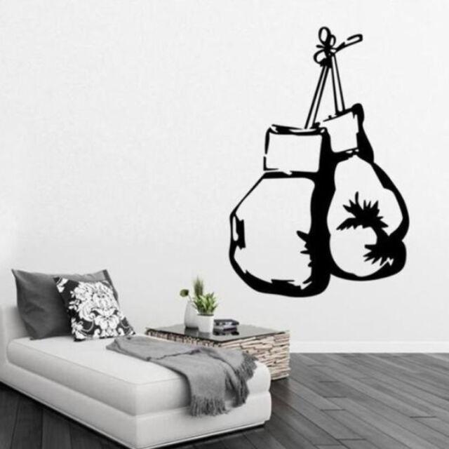 Boxing Glove Wall Sticker Mural DIY PVC Stickers Kitchen Bedroom Bathroom