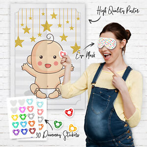 Pin-the-Dummy-on-the-Baby-Shower-Party-Game-Games-Boy-Girl-Unisex