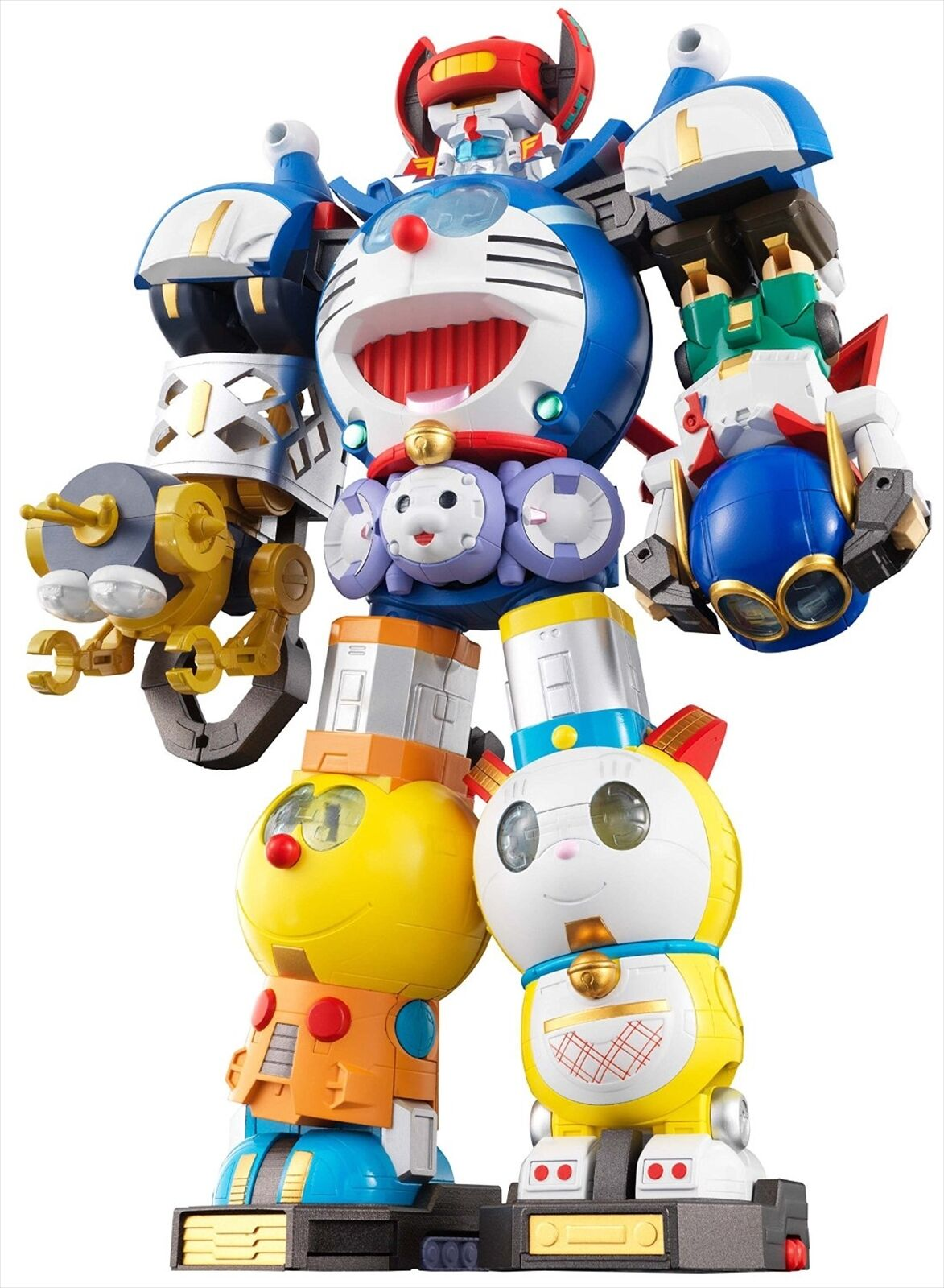 BANDAI Super Chogokin Combination Robot Fujiko F Fujio Doraemon Characters