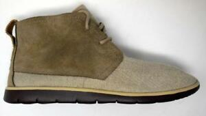 34e09928dae Details about UGG Australia Beige Casual Boots Shoes Mens Size 9  COMFORTABLE SHIPS TODAY!