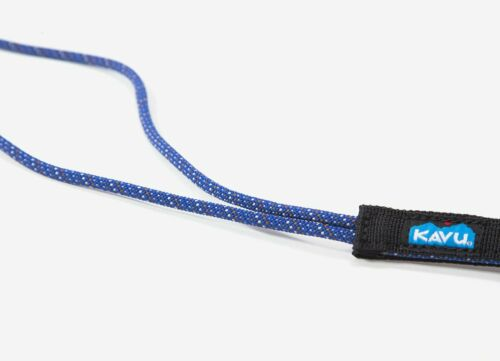 1131-50! KAVU OUTDOOR PRODUCTS ROPE CLIP DETACHABLE KEY RING LANYARD LAPIS BLUE