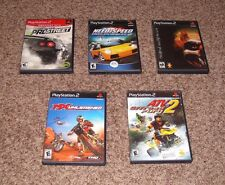 Lot of  4 PS2 Racing Games - Need for Speed,Twisted Metal,etc
