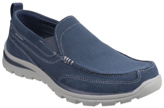 36a43b606e38 Skechers Superior Milford 64365 Mens Casual Comfy Relaxed Fit ...
