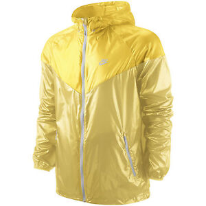 2fd9977f4863 Nike Men s Yellow Summerized Windrunner Running Jacket 466653-368 ...