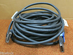 Belle Ibm 21p5457 - 15 Km Rio-2 Copper Hsl-2 Cable 15 M (49.2 Ft) Rio-g Cec 1485-afficher Le Titre D'origine