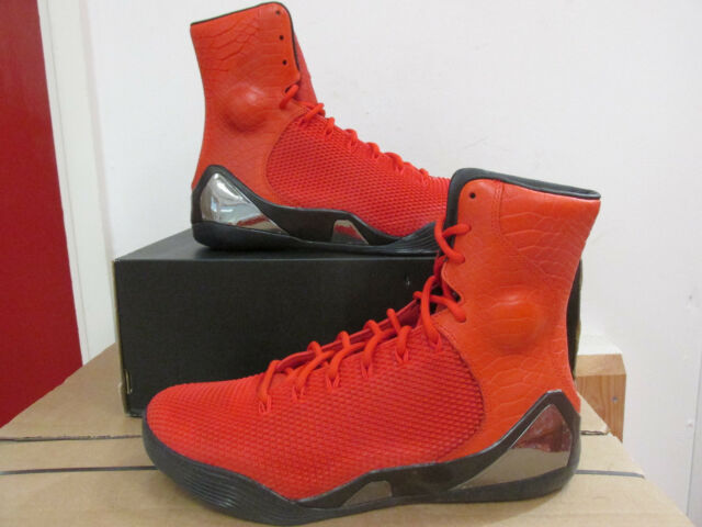 eef233851aa1 nike KOBE IX HIGH KRM EXT QS mens hi top trainers 716993 600 sneakers  CLEARANCE