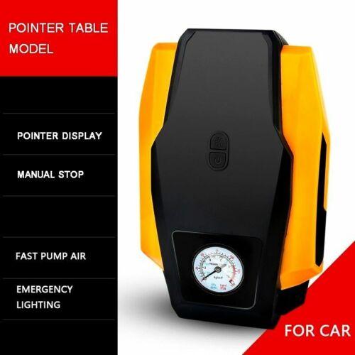 Inflatable Pump Digital Display Car Bicycle Air Compressor Portable 12V//220V