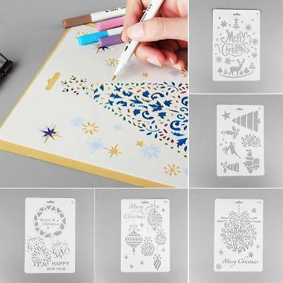 Album Dekorativ Embossingschablone Briefmarke Scrapbooking Layering Stencils