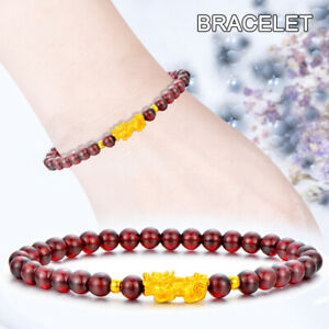 Feng-Shui-Imitation-Agate-Stone-Wealth-Pi-Xiu-Bracelet-Attract-Wealth-Good-Luck