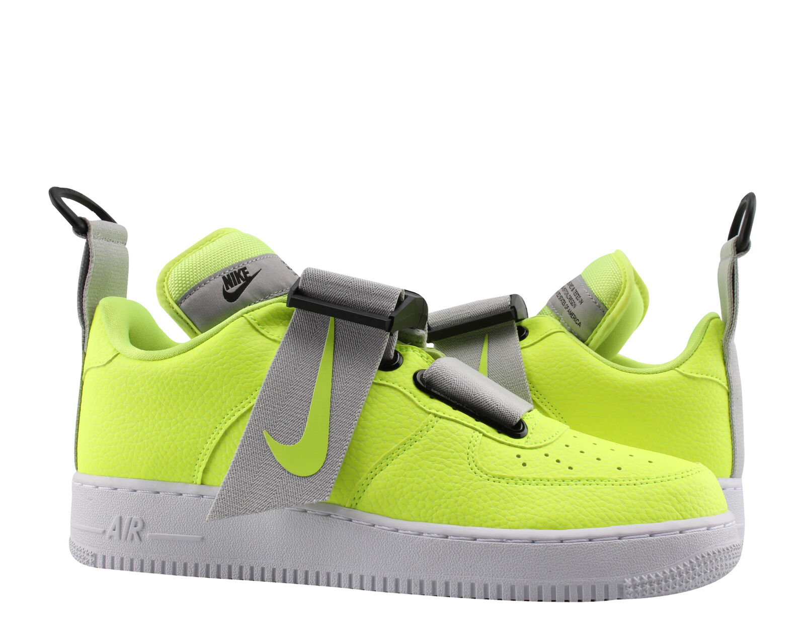 88278c42a8cfe Nike Nike Nike Air Force 1 Utility Volt White-Black Men s Basketball shoes  AO1531-. About  Success Stories  Services  Nike React Element 55 Gym Red ...