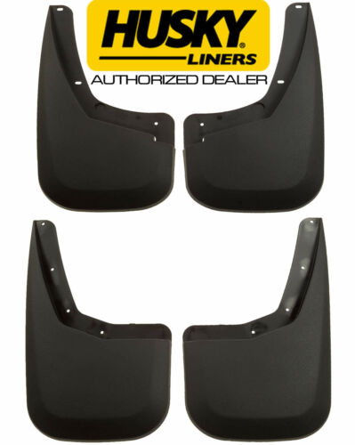 HUSKY Mud Guards Flaps for 07-14 CHEVY SILVERADO 1500 2500 3500 HD Front /& Rear