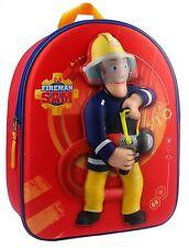 """Feuerwehrmann Sam Fireman Sam  3D Rucksack """"To The Rescue"""""""