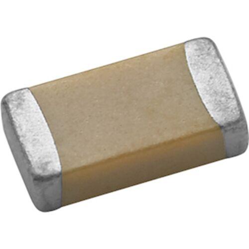 SMD-Kondensator 1µF 10V Y5V 20/% Vielschicht Bauform 0603 gegurtet