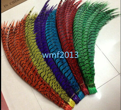 32-36 in Beautiful Copper chicken feather length 80-90 cm various colors