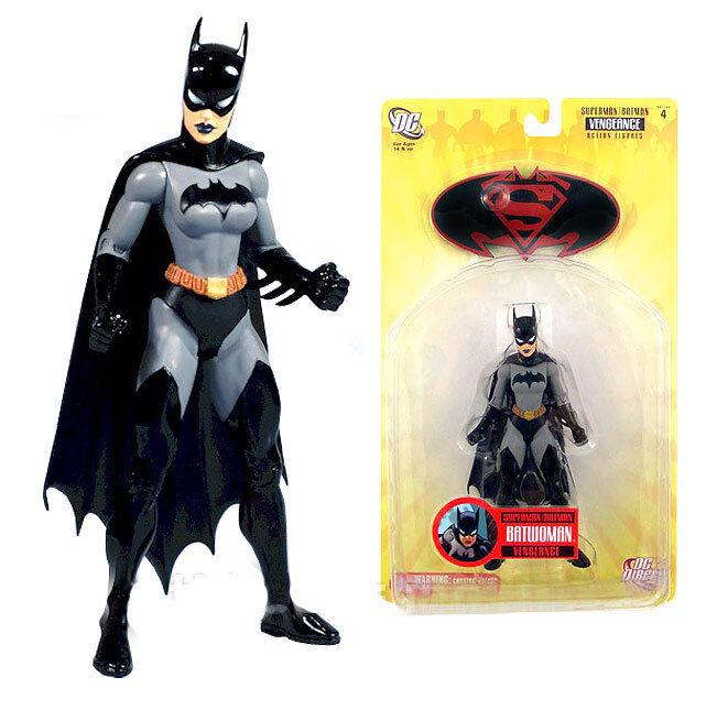 DC Comics SUPERMAN BATMAN series Batwoman 6  toy action figure boxed RARE
