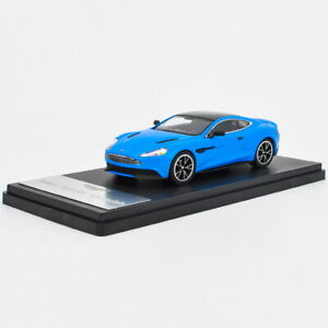 1-43-Aston-Martin-Vanquish-Blue-Diecast-Car-Model-Collection
