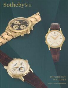 Sotheby-039-s-Catalogue-Geneva-Important-Watches-12-November-2019-HB