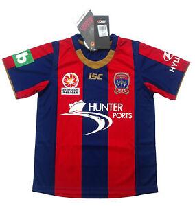 Newcastle-Jets-Kids-Home-Jersey-Shirt-039-Select-Size-039-8-14-BNWT-A-League