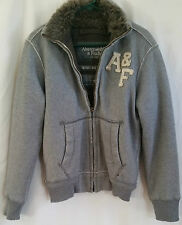 Abercrombie & Fitch A&F Women's SizeSDistressed Jacket Faux Fur Lined Super Warm