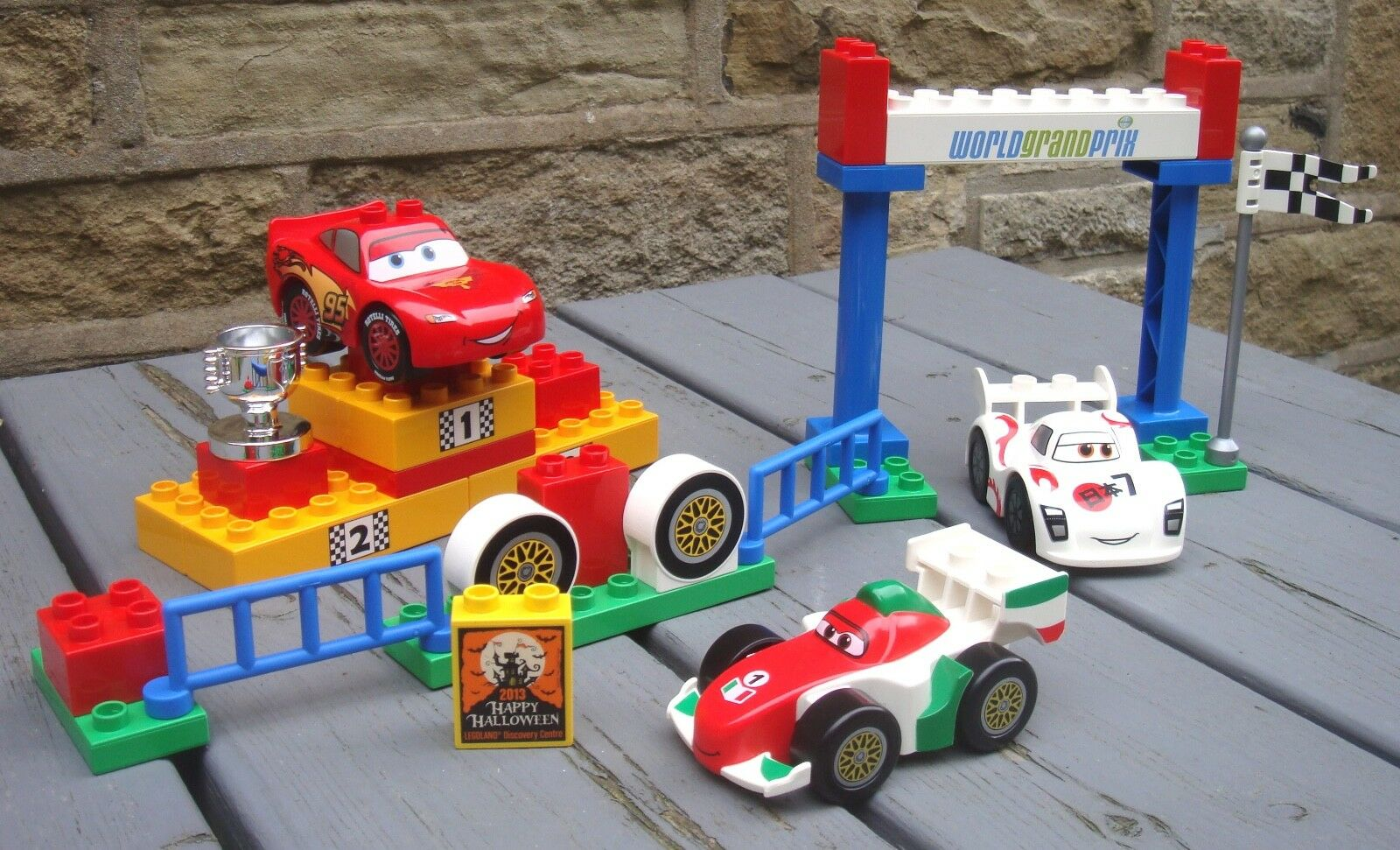 VINTAGE LEGO DUPLO CARS WORLD GRAND PRIX set 5839 (2011)