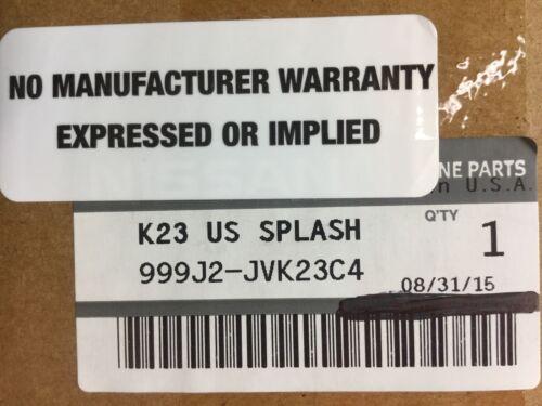 999J2-JVK23C4 Infiniti G37//Q60 SplashGuards Rear Set  NEW OEM!! 999J2JVK23C4