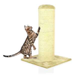 Cozy-Pet-Deluxe-Cat-Tree-Sisal-Scratching-Post-Quality-Cat-Trees-CT07-Beige
