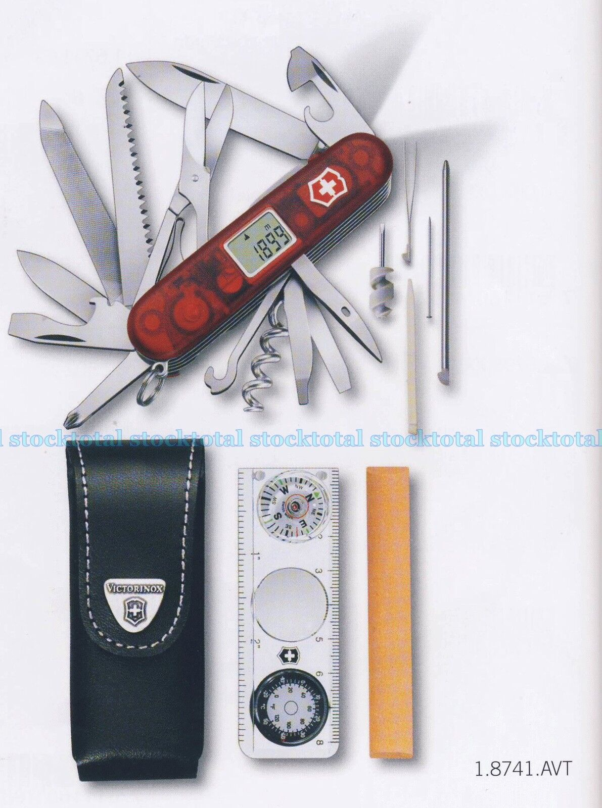 NAVAJA VICTORINOX LITE CON LUZ JUEGOS EXPEDITION KIT 1.8741.AVT V17