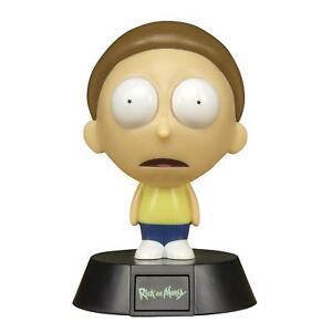 Rick-and-Morty-Mini-Leuchte-Deko-Lampe-Nachtlicht-Figur-Cartoon-Fan-Merch-11cm