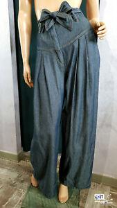 nuove foto prodotti di qualità rivenditore di vendita Dettagli su Denny Rose jeans con cintura art. 911DD20005 collezione  primavera-estate 2019