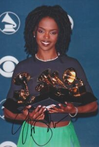 LAURYN-HILL-Foto-20x30-signiert-IN-PERSON-Autograph-signed-Autogramm