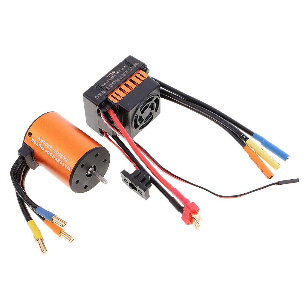 Estanco 3650 3900kv brushless motor + 60a ESC combo set para 1 10 RC