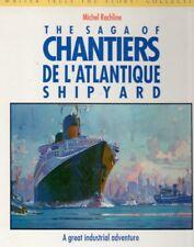 CGT Ile de FRANCE NORMANDIE Chantier L'Atlantique Shipyard Picture History Book