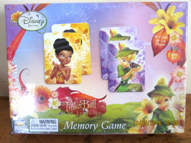 ~TINKER BELL LOST TREASURE MEMORY GAME - BN & SEALED~