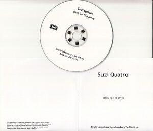 SUZI-QUATRO-Back-To-The-Drive-2006-UK-1-track-promo-test-CD