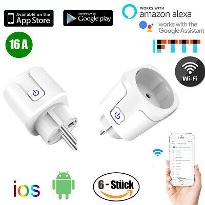 Wifi Smart Steckdose Android iOS Amazon Alexa Google Intelligente Socket Plug DE