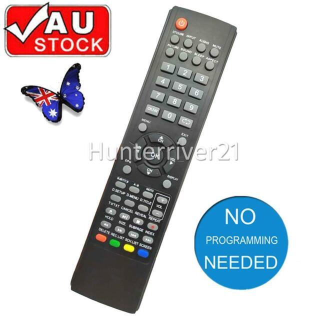 For TEAC TV Remote 0118020315 Model LEDV2282FHD LCDV3256HDR LCDV2681FHD