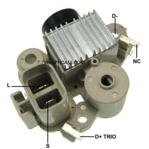6677489 Régulateur pour alternateur remplace Bobcat TA500C09001 Mando