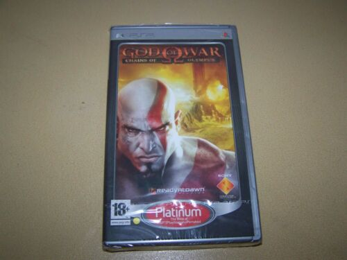 1 of 1 - God of War: Chains of Olympus Platinum PSP **New & Sealed**