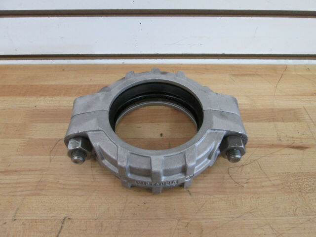 """2/"""" Aluminum Victaulic type Clamp and Gasket NEW"""