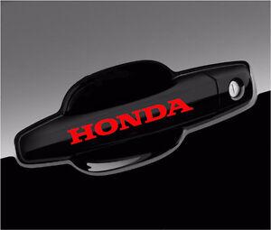 Honda Decal For Wheels And Door Handle Car Vinyl Stickers Graphics