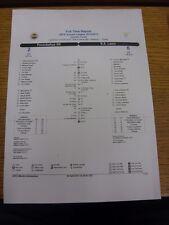 04/04/2013 Fenebahce v Lazio [UEFA Europa League] - Full Time Report, Colour Sin