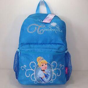0807dafe01a8 Image is loading Disney-Princess-Cinderella-School-Bag-Handbag-Backpack- Rucksack-