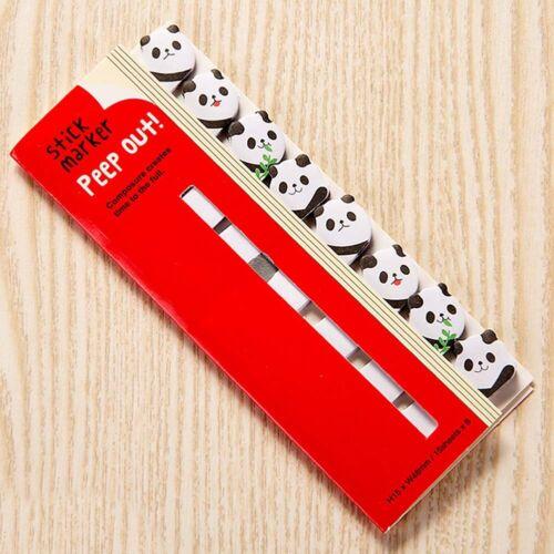 Animal Sticker Post Bookmark Marker Memo Index Tab Sticky Note Pads Cute UK JKDV