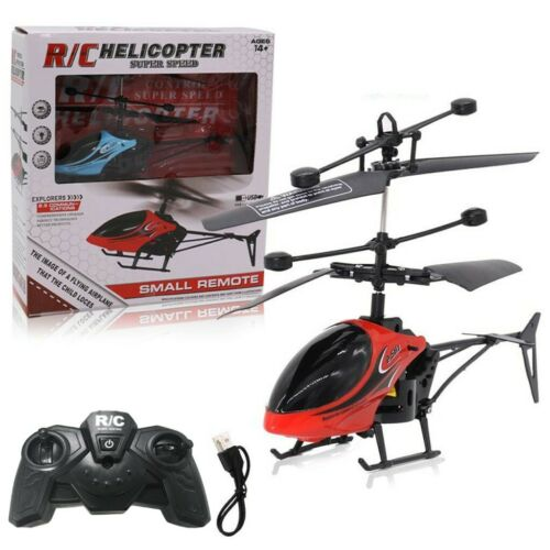 Mini RC Infrared Induction Remote Control 2CH Gyro Sensing Helicopter RC Drone